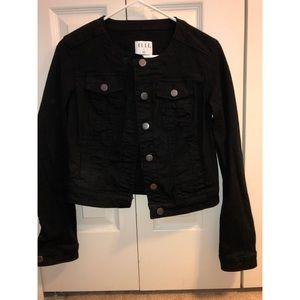 Elle Black Jean Jacket